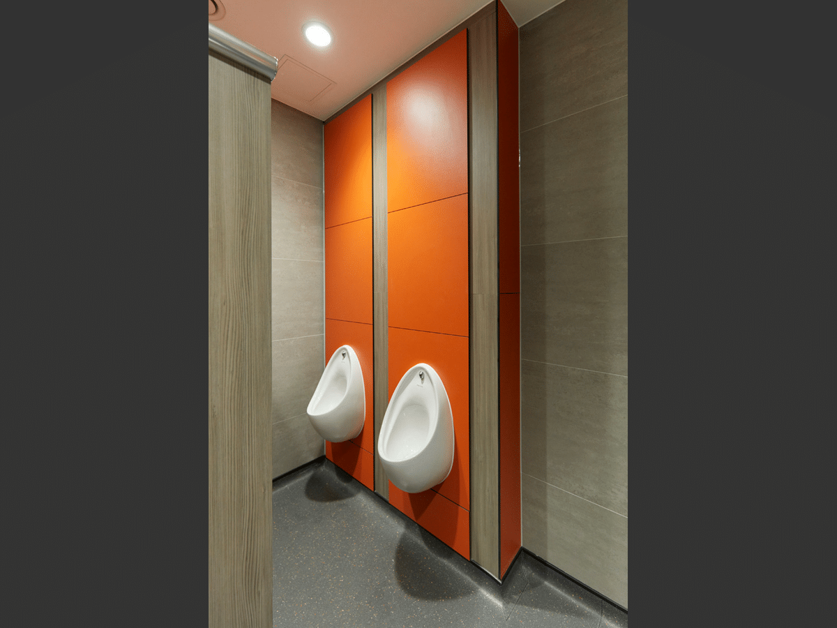 Dunham's Washrooms Duct Panels