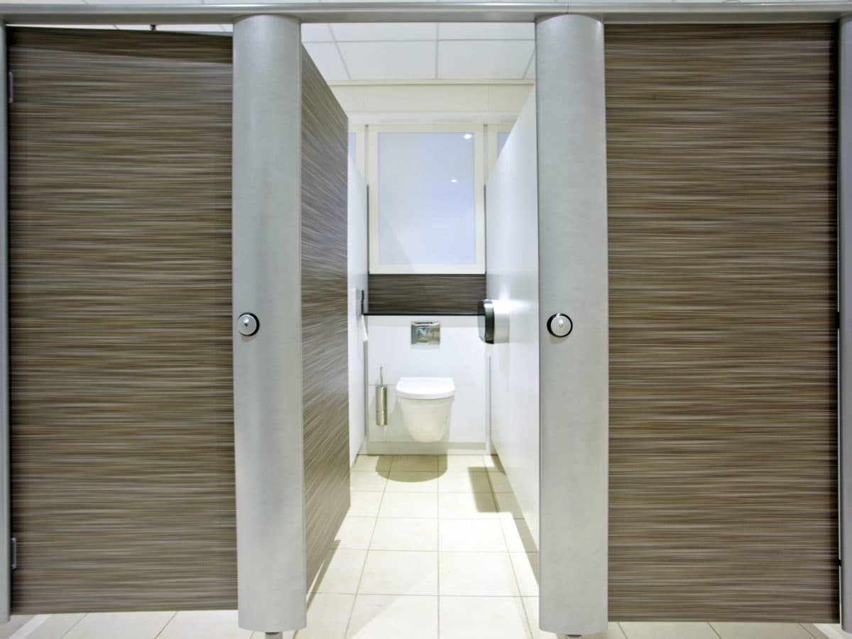 Aspect Designer Washroom Cubicles