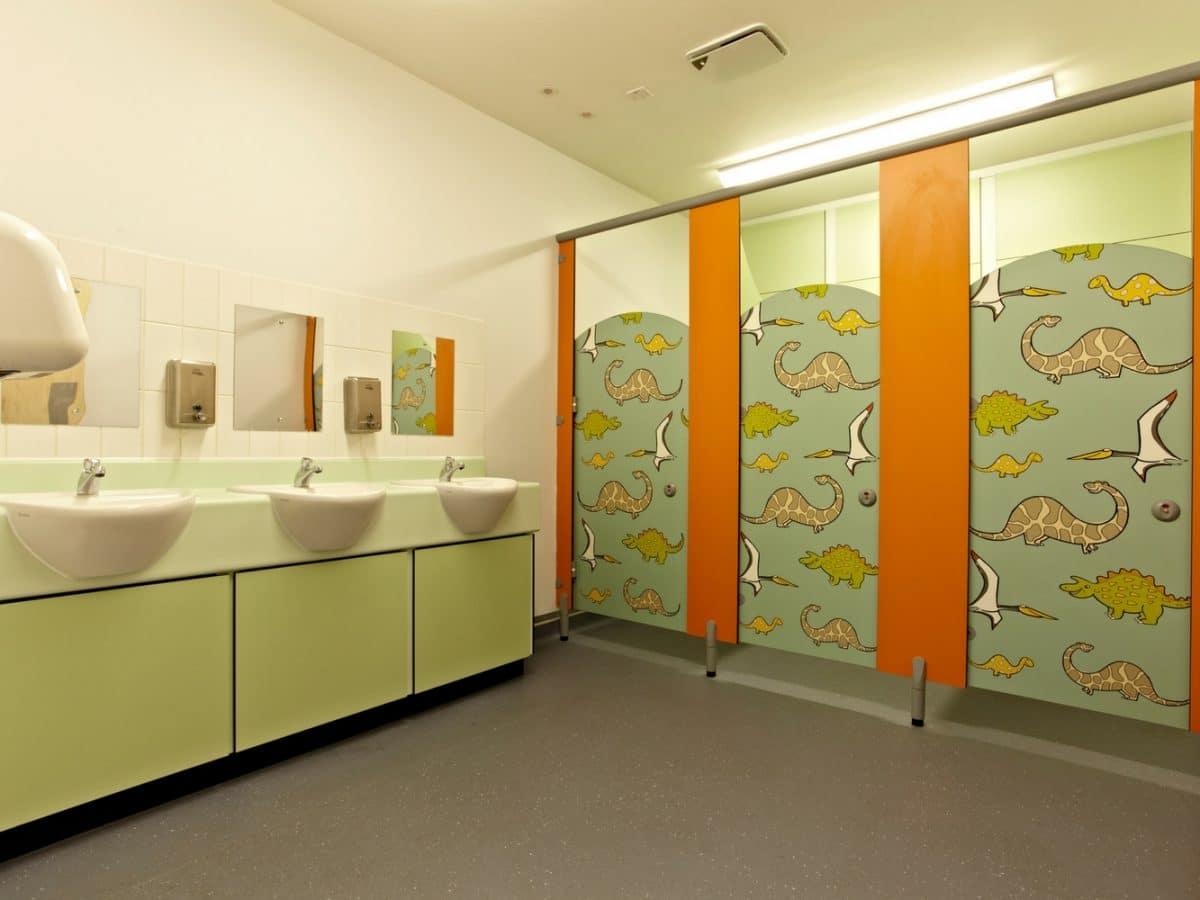Junior Primary School Toilet Cubicles Dunhams