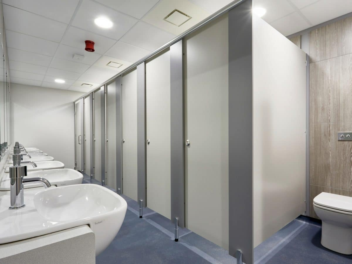 Washroom Products: Classic Toilet Cubicle System