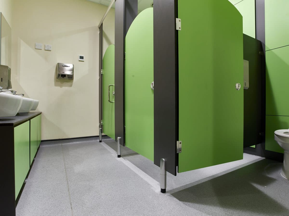 Junior Primary School Toilet Cubicle Systems