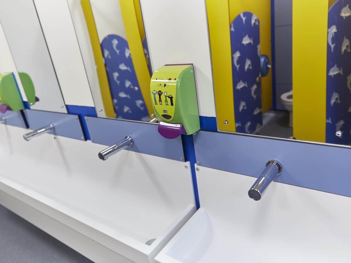 Solid Surface Handwash Troughs