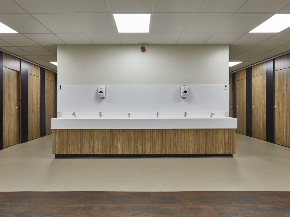 Ormiston Academy school washroom refurbishment