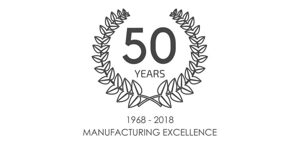 50 years Dunhams Washrooms Ltd