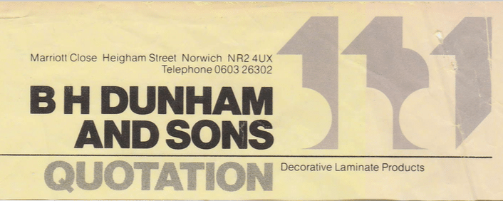 B H Dunham and Sons