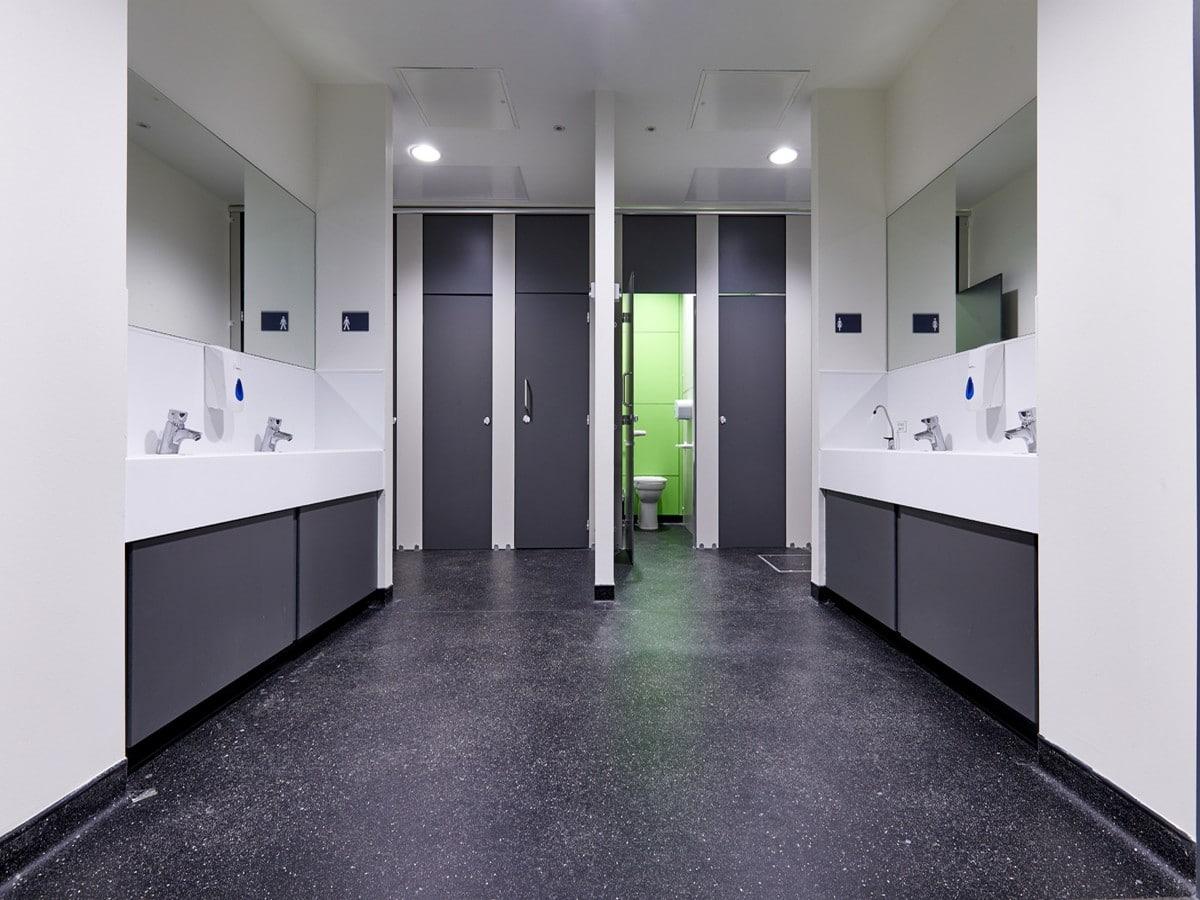Modern style Washroom Facilities