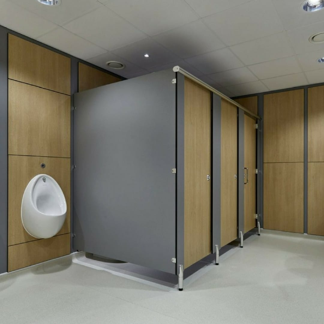 council washroom toilet cubicles