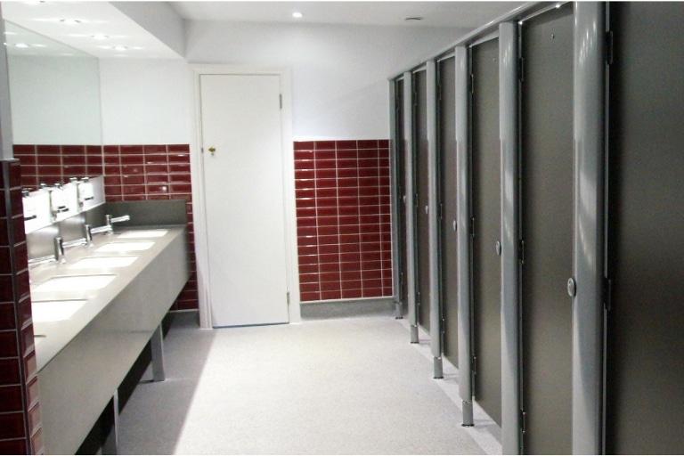 Dominion Theatre - Washroom Example
