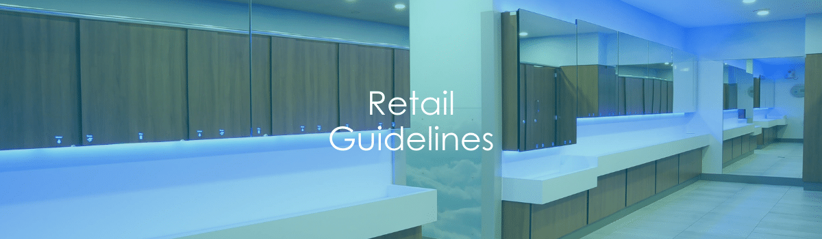 Retail Guidelines Banner