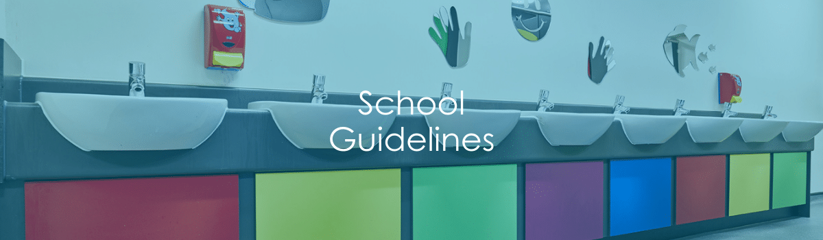 School Guidelines Banner