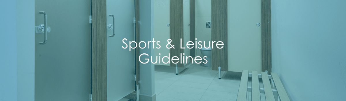 Sports and Leisure Guidelines Banner