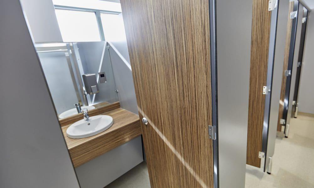 washroom detail & handwash