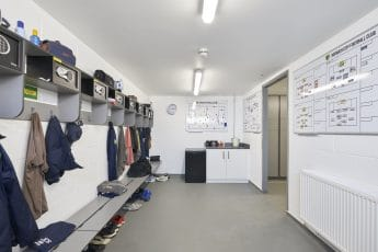 Norwich City Football Club Changing Room 2