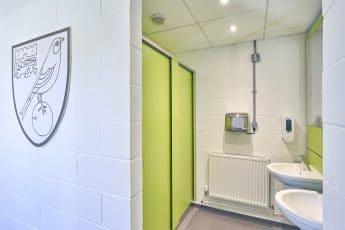 Washing Room Norwich city