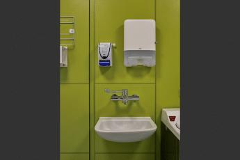 Handwash Yellow Wall image