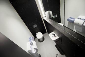 Toilet, Handwash & Dryer Example