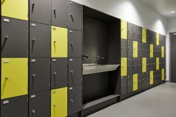 Gym Lockers - Handwash