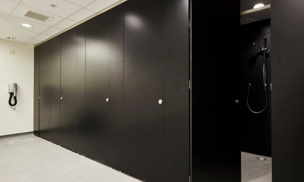 commercial shower cubicles