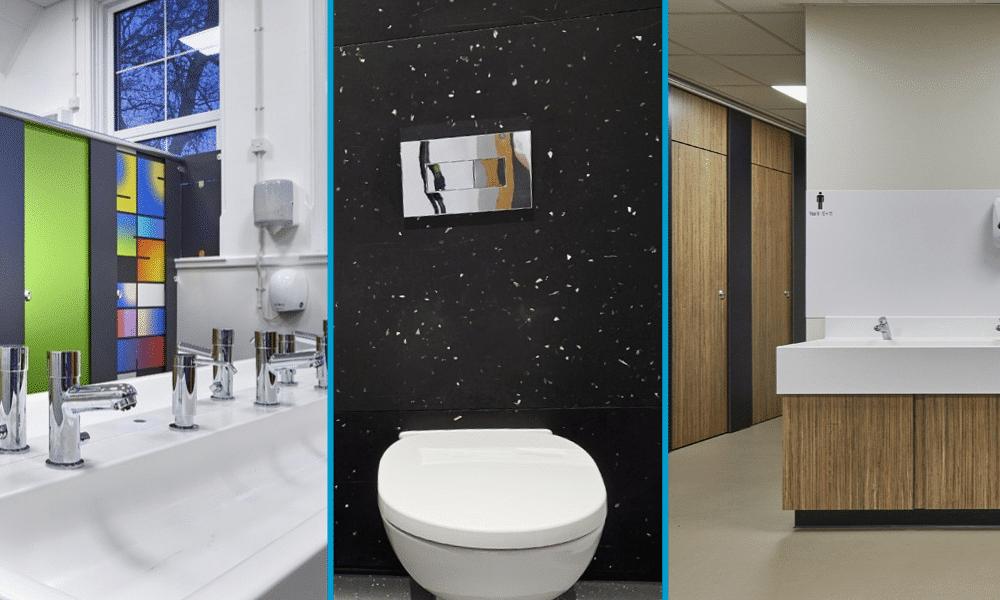 School washrooms design example
