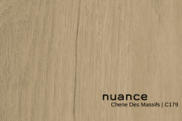 Nuance Chene des Massifs Wall Panelling